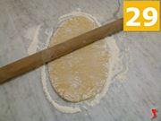stendere la pasta