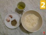 parmigiano, pepe, aglio, olio