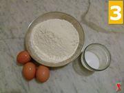 uova farina e sale