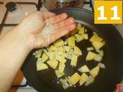 La cottura della patate