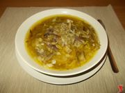 La zuppa di carciofi