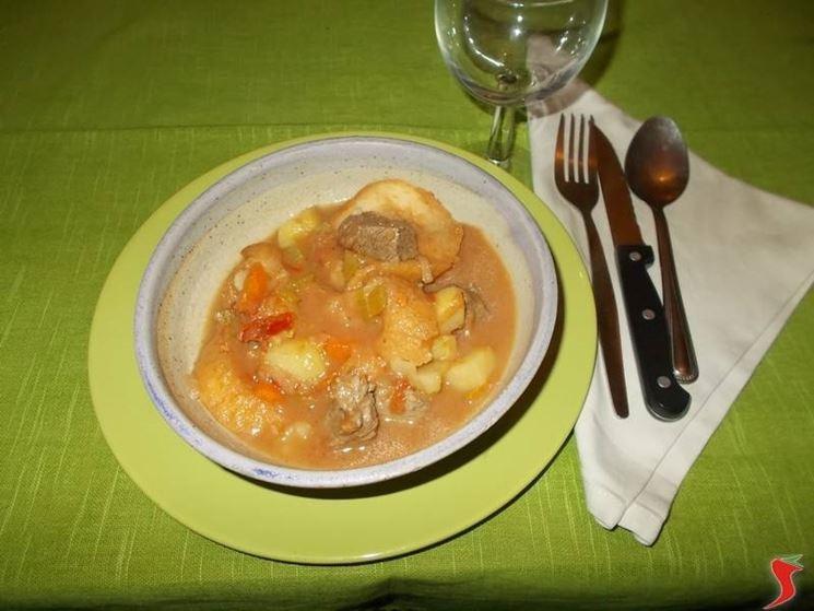La zuppa di carne