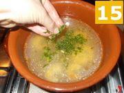 Proseguite con la zuppa