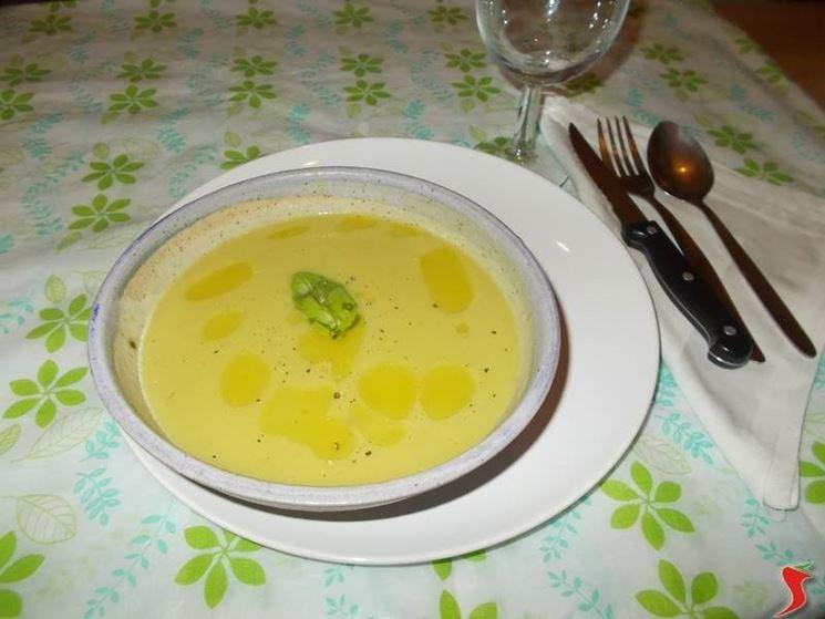 La zuppa di piselli