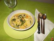 La zuppa di pollo