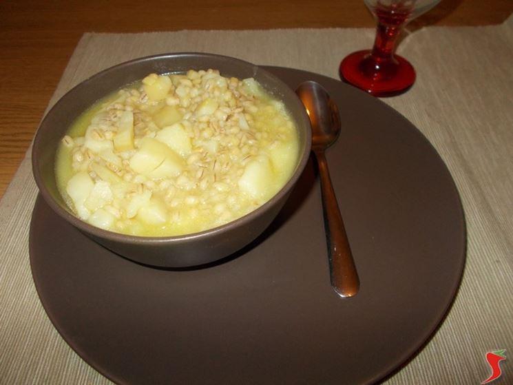 Zuppe di farro