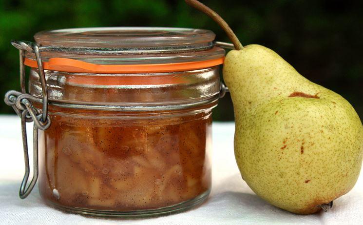 confettura pera