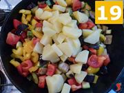 cuocere le verdure in padella