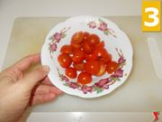 Lavorate i pomodori pachino