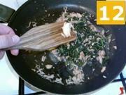 Terminate la cottura degli ingredienti