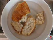spugnare il pane