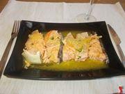 Il salmone all'arancia