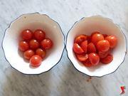 taglio dei pomodori
