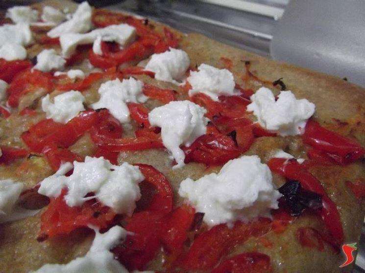 pizza di farro