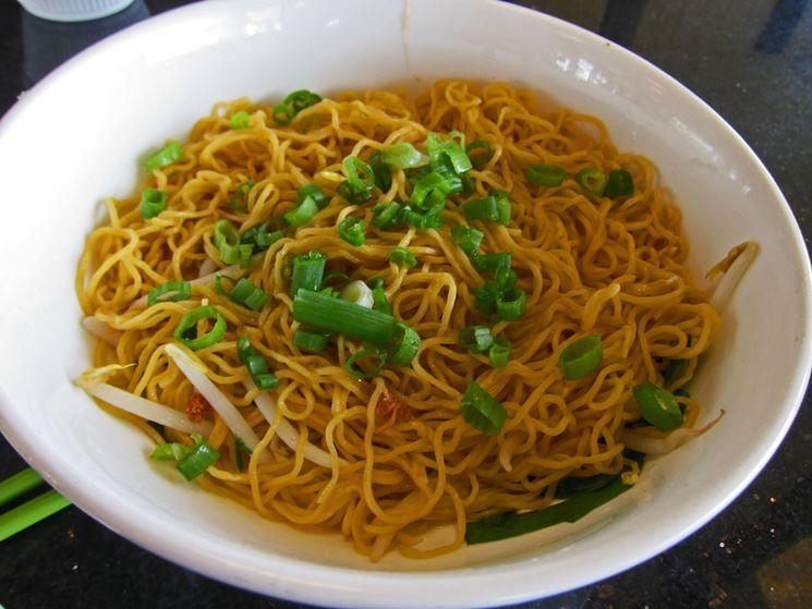 spaghetti di soia fatti in casa