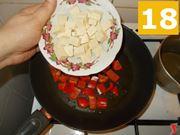 La cottura del peperone