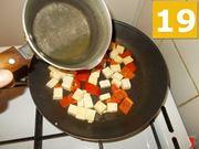 Terminare la cottura del tofu