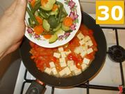 La cottura del tofu