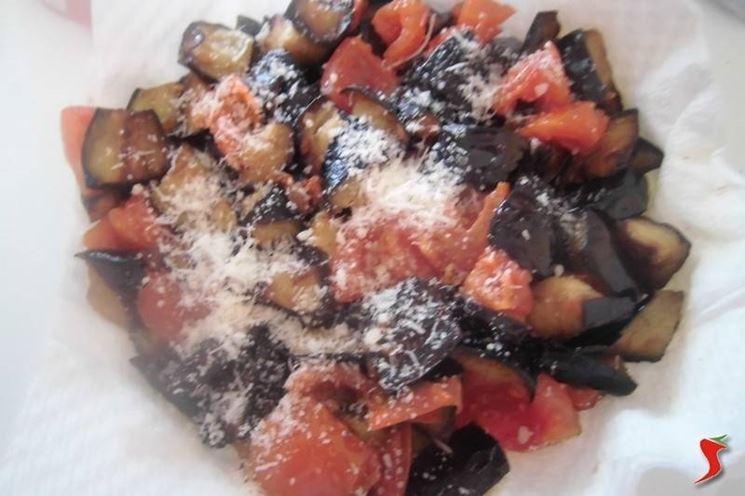 Melanzane e pomodorini