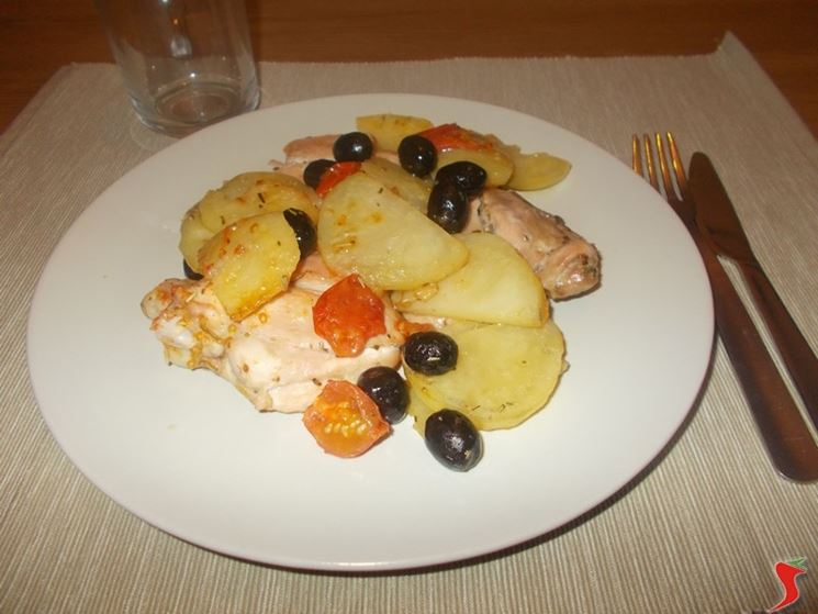 pollo olive pomodorini