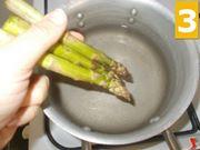 Lavorate gli asparagi