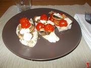 pollo con funghi mozzarella pomodori