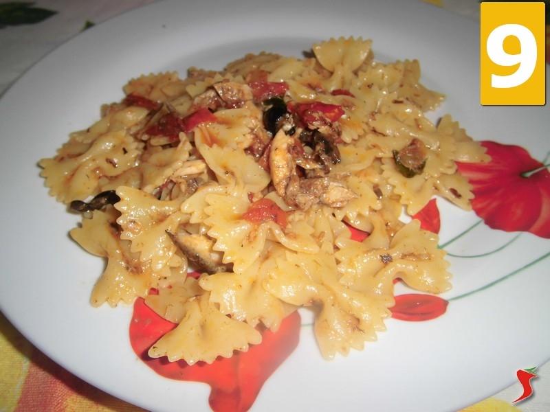 Ricetta piatto di pasta veloce