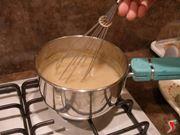 addensare il liquido di cottura