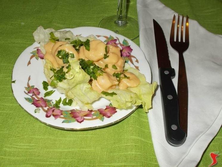 Il cocktail di gamberetti