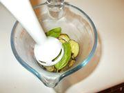 Frullare le zucchine