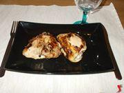Le cosce di pollo alla griglia