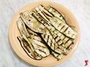 melanzane con olio e sale