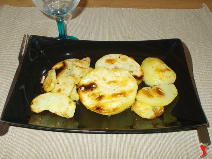Le patate alla griglia