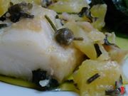 baccalà in umido con patate e cipolle