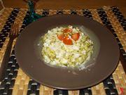 Merluzzo e zucchine