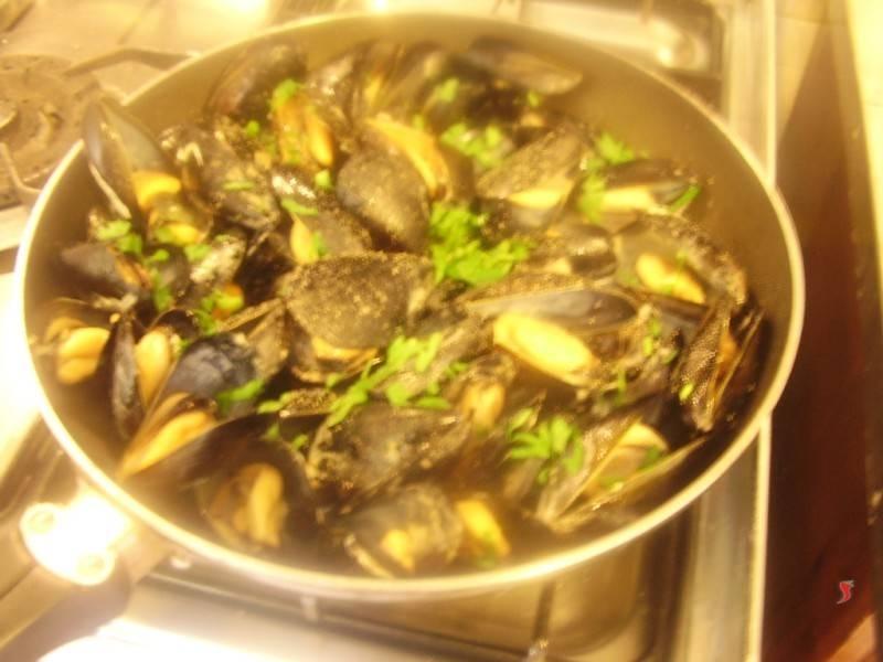Cozze impepata molluschi for Cucinare le cozze