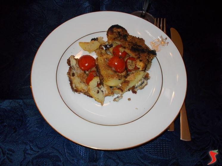 Acciughe e patate