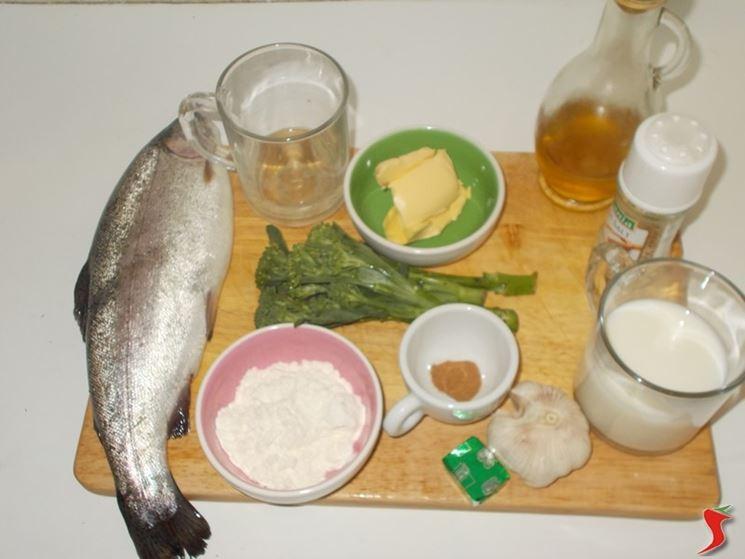 Trota al forno pesci di fiume ricetta trota al forno for Pesci di fiume