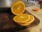 tagliare arancia