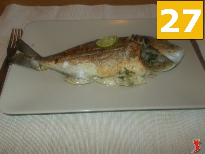 Cucin Branzino Alla Pias Pesce Azzurro Querciacb