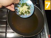 La cottura delle zucchine