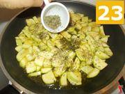 Finite di cuocere le zucchine