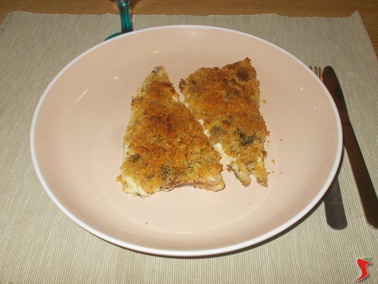 Ricetta Orata Gratinata Con Patate.Orata Gratinata Al Forno Pesci Di Mare Orata Gratinata Ricetta