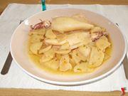 Seppia e patate