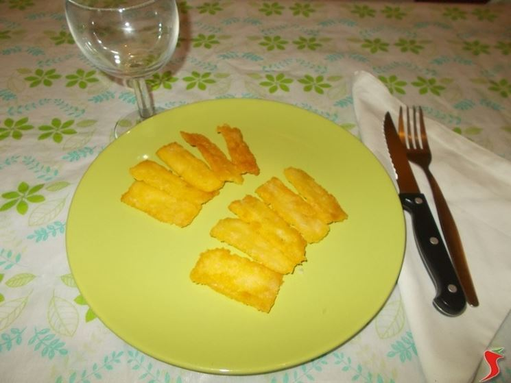 La polenta fritta