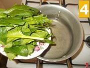 Lessare gli spinaci