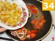 Calamari e patate