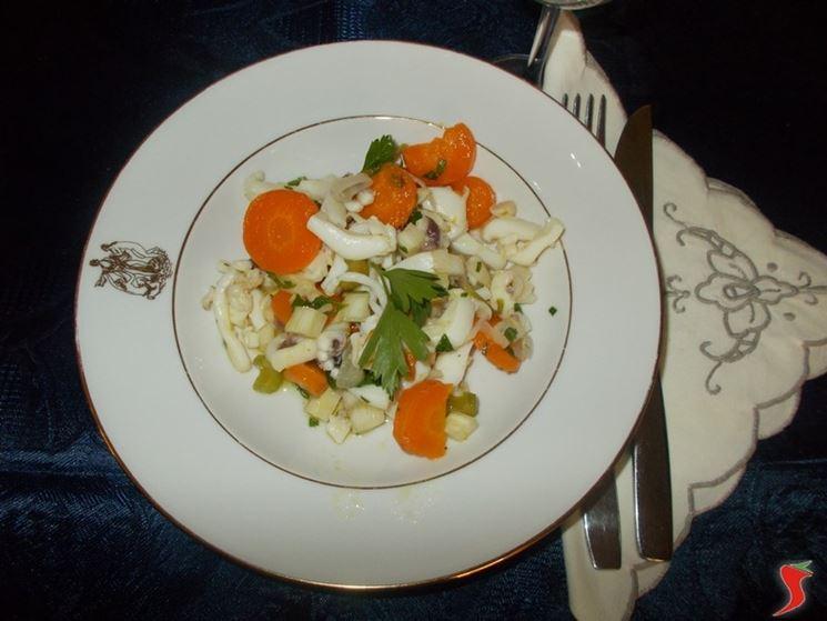 Calamari in insalata