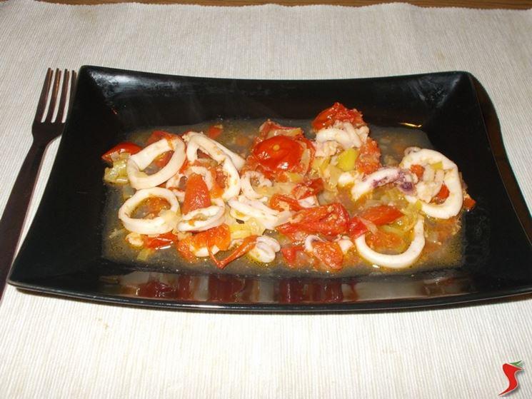 Ricette con calamari