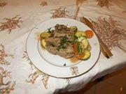 agnello con le verdure